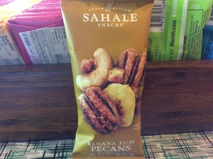 Sahale  Banana Rum Pecans Glazed Mix 1.5 oz.